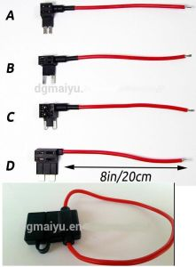 Add a Circuit Fuse Tap Piggy-Back Standard Blade Fuse Holder ATO Atc 12V 24V pictures & photos