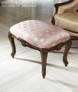 High Quality Classical Wooden Furniture Foot Stool pictures & photos