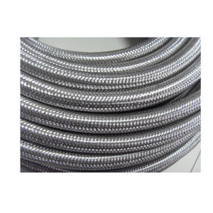 SAE100 R14 Stainless Steel Mesh 3/8 Inch PTFE Tube pictures & photos