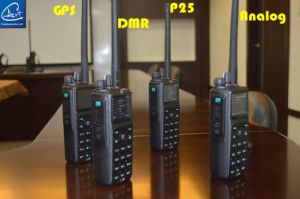 Digital and Analog Dual Mode Tatical Handheld Radio, VHF/UHF/700-800MHz