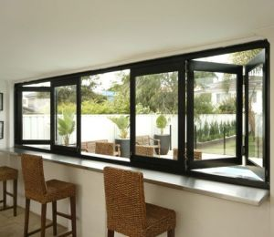 Topbright High Quality Aluminum Folding Bi Folding Window pictures & photos