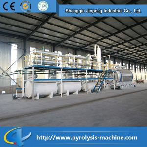 Pyrolysis Oil Plant! Recycle Waste Tire/ Plastic to Crude Oil / Diesel Oil pictures & photos