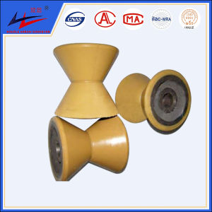 Nylon and Polyurethane Carrier V Roller pictures & photos