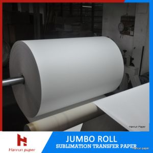80GSM Sublimation Transfer Paper Roll for Polyester Textile pictures & photos