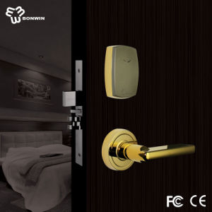 Modern Zinc Alloy Gold Electronic Hotel Safe Door Lock pictures & photos