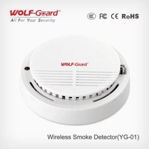 Wireless Smoke Detector Wired/Wireless Smoke Detector Yg-01 pictures & photos