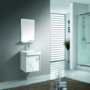 Modern Design Single Basin Plywood Bathroom Wall Cabinet pictures & photos