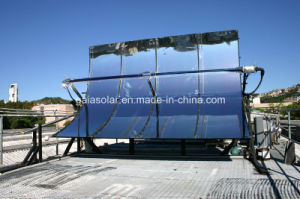 Concentrated Solar Parabolic Collector for Space Heating pictures & photos