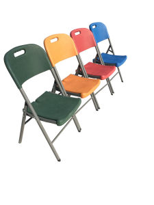 Heavy Duty Plastic Folding Chair pictures & photos