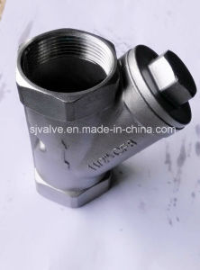 Y Type Female Thread Strainer CF8 pictures & photos