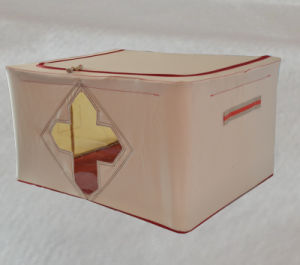 Bedroom Clothes Collecting Storage Box with Three Window pictures & photos