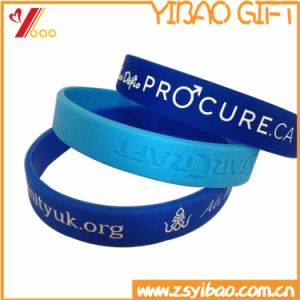 Cheap Promotional Custom Silicone Wristband pictures & photos