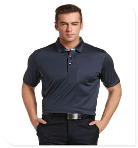 Newest Fashion Shirt Style 100% Cotton Men Polo Shirt with Factory Direct Price