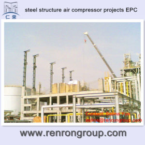 Carbon Steel Structure Construction Air Compressor Projects EPC a-03