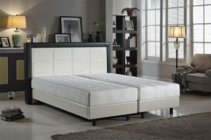 Modern PU Hotel Popular Storage White Home Bedroom Furniture pictures & photos