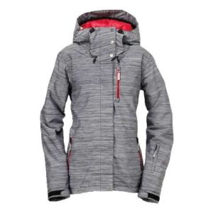 Women Grey Casual Windproof & Breathable Softshell Jacket with Hood pictures & photos
