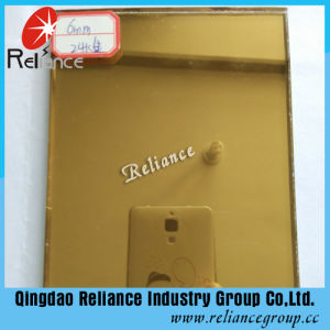 5mm / 6mm 24k Golden Reflective Glass / Offline Reflective Glass pictures & photos
