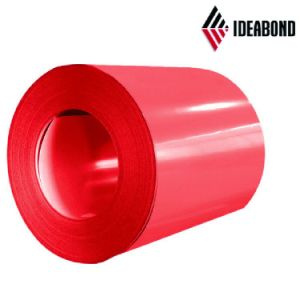 Ideabond Color Coated Aluminum Coil for Decorative Plastic Wall Panel pictures & photos