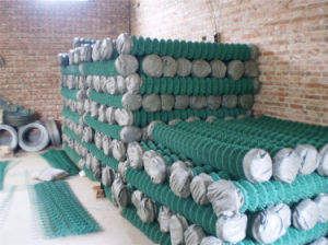 Chinese Yaqi Factory Supply Chain Link Fence with Lower Price pictures & photos