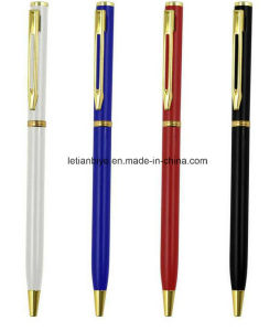Cross Type Slim Ballpoint Metal Pen (LT-C142) pictures & photos