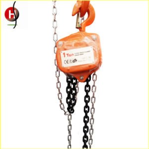 Vital Type High Quality 1 Ton Chain Block pictures & photos
