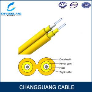 Gjfj8V China Supplier Fiber Cable Price List Duplex Flat Optic Fiber Cable Indoor Fiber Optical Cable Zipcord Interconnect Optic Cable
