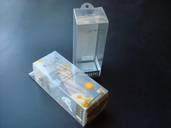 Clear Pet Plastic Packing Box, Clear Soft Crease Folding Box