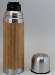 Bamboo Stainless Steel Eco-Friendly Water Mug pictures & photos