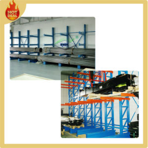 Heavy Duty Warehouse Steel Cantilever Rack, Storage Racking System for Long Objects pictures & photos