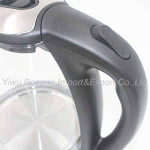 Newly Glass Electric Kettle Sf-2009 (black) 1.8 L Electric Water Kettle pictures & photos