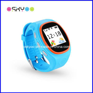 Children Smart GPS Tracking Watch with WiFi Database pictures & photos