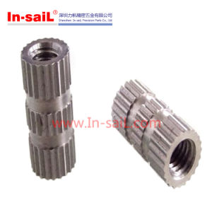 Mould Bush Straight Knurling Inserts Used in Cell Phone Shell pictures & photos