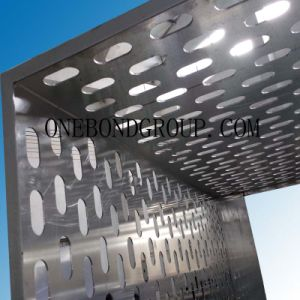Beautiful of The Design of Regular Perforated Aluminum Panel for Curtain Wall Decoration pictures & photos