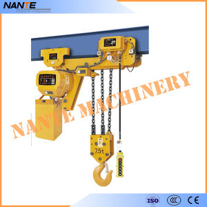 Low Clearance 0.5-7.5t Electric Chain Hoist pictures & photos