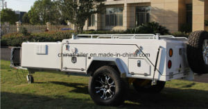 Independent Suspension Rear Folding Camper Trailer with Tent in Australia pictures & photos