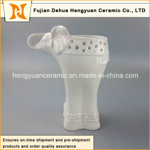 Household Decorations Ceramic Elephant Shape Vase (Garden Decoration) pictures & photos