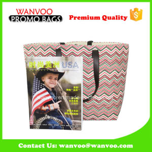 Promotion Recycled Fashion Woman Paper Canvas Tote Shopping Bag pictures & photos