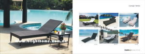PE Rattan Wicker Outdoor Day Bed Leisure Furniture pictures & photos