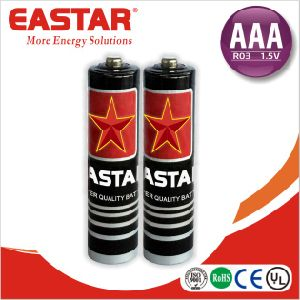 AAA Size R03 Dry Carbon Zinc Battery pictures & photos