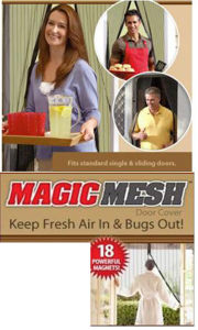 Magic Mesh Hands-Free Screen Door pictures & photos