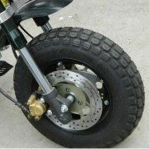 Motorcycle Vacuum Tire 3.50-10 DOT Approved