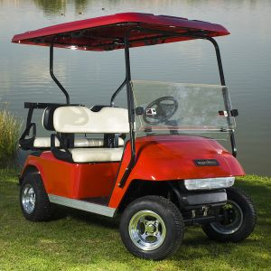 Marshell Factory 4 Person Electric Buggy Cart with Rear Seat (DG-C2+2) pictures & photos