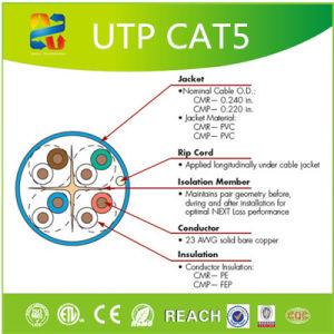 UTP Cat5 PVC Computer Network Cable pictures & photos