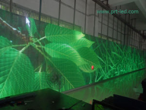 SMD3528 Pitch 10mm LED Curtain Wall with Full Color pictures & photos