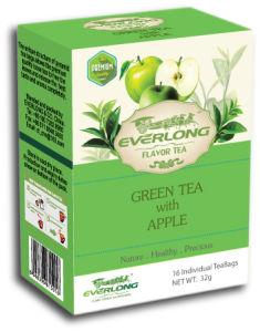 Apple Flavored Green Tea Pyramid Tea Bag Premium Blends Organic & EU Compliant (FTB1508) pictures & photos