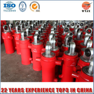 Side-Dumping Telescopic Hydraulic Cylinder Whit ISO/Ts16949 pictures & photos