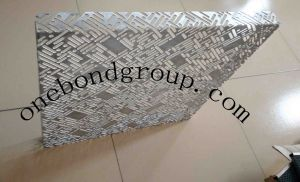 with CNC Mechanical Turret Punch Press Perforated Aluminum Panel for Curtain Wall Decoration pictures & photos