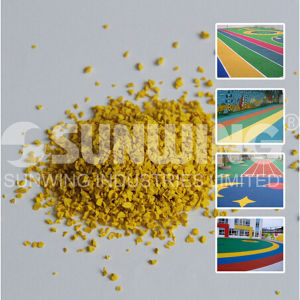 Outdoor EPD Rubber Flooring EPDM Mat pictures & photos