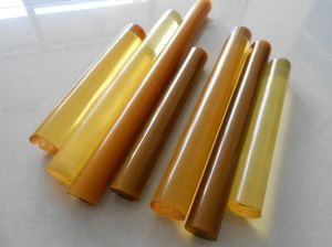 Polyurethane Rod, PU Rod Brown Color with 80-90 Shore a pictures & photos