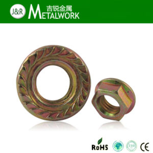 4.8 Grade Flange Nuts M4-M52 pictures & photos